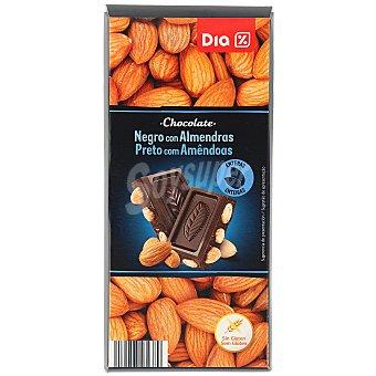 DIA Chocolate negro 55% con almendras Tableta 200 gr