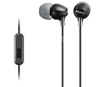 SONY MDREX15APB Auricular tipo intrauricular con microfono, negro, especial Smartphone
