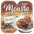 Mousse chocolate 4 paquetes de 62.5 g Hacendado