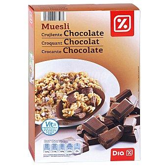 DIA Cereales muesli con chocolate paquete 500 gr Paquete 500 gr
