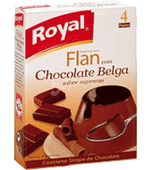 Royal Fan con chocolate belga 110 g
