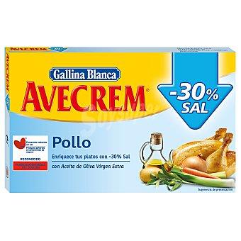 Avecrem Gallina Blanca Caldo de pollo bajo en sal 18 ud