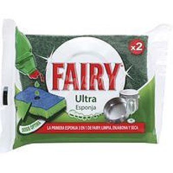 Fairy Esponja ultra Pack 2 unid