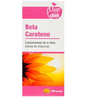 Megadiet Complemento alimenticio en perlas Beta Caroteno 60 ud