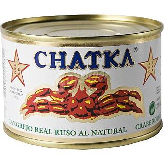 Chatka Cangrejo ruso 60% patas lata 185 g lata 185 g