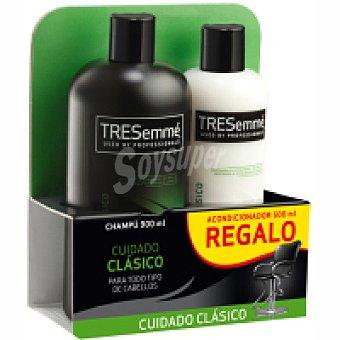 Tresemmé Champu clasico + acondicionador gratis 900 ML