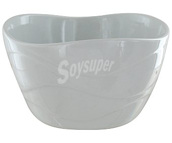 GSMD Bol o cuenco de porcelana, 500 mililitros, color blanco, modelo Corina 1 Unidad