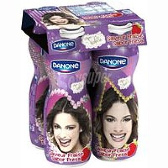 Danone Disney Drink de fresa Pack 4x160 ml