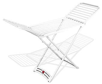 Auchan Tendedero de resina con alas, 20 m lineales de superficie de tendido, modelo Zafiro 1 unidad