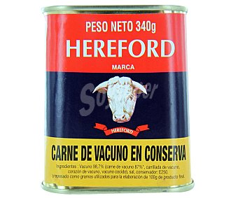 HAREFORD Carne vacuno conservada (corned beef) 340 Gramos