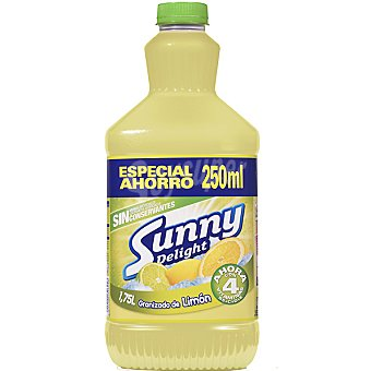 Sunny Delight Limón refresco de fruta + 250 ml gratis Envase 1,5 ml