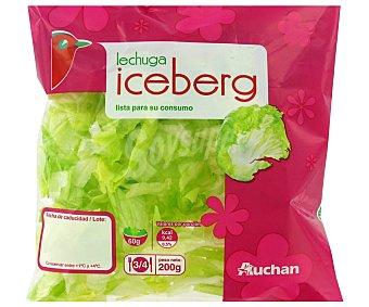 Auchan Lechuga Iceberg Bolsa de 200 Gramos