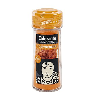 Carmencita Colorante alimentario Frasco 62 g