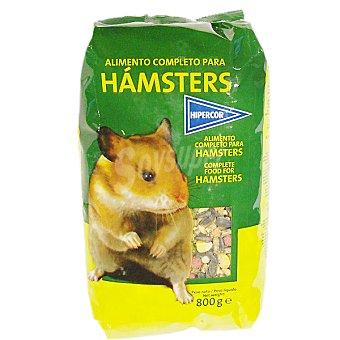 Hipercor Alimento completo para hámsteres Paquete 800 g