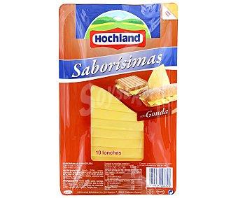 HOLCHAND Queso en Lonchas Gouda Saborísimas 175 Gramos