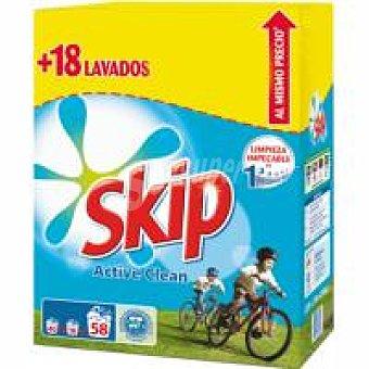 Skip Detergente en polvo Maleta 40+18 cacitos