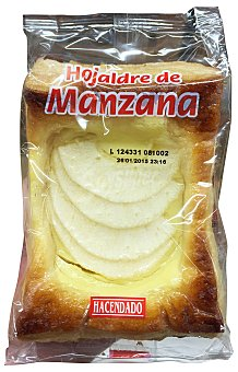 Hacendado Surtido granel tarta de manzana 1 u (65 g peso aprox.)