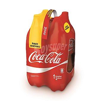 Coca-Cola Coca cola 4 botellas de 2 l