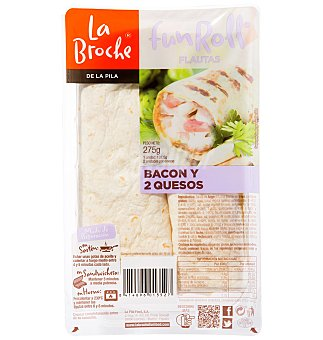 La Broche Flauta bacon-queso 1 UNI