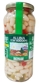 Hacendado Lenteja cocida vegetales Tarro 570 g escurrido