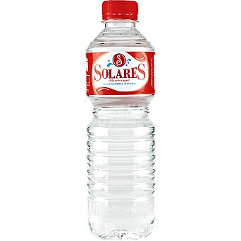 Solares Agua mineral Botella 50 cl