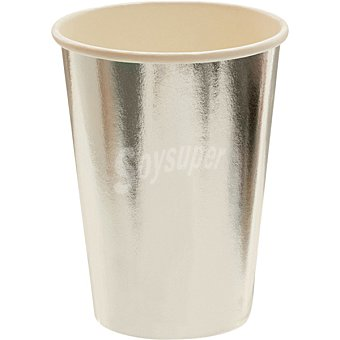 ONEUSE Vaso color p paquete 8 unidades