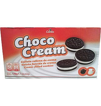 Condis Galletas choco cream 176 G