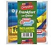Salchichas frankfurt con queso Pack 3 envases x 140 g Campofrío