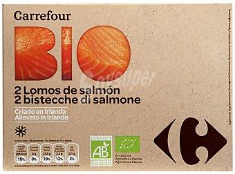 Carrefour Bio Lomo de salmon bio 200 g