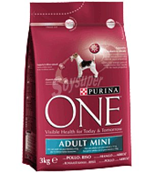 One Purina Adulto mini perro pollo&arroz one 3K