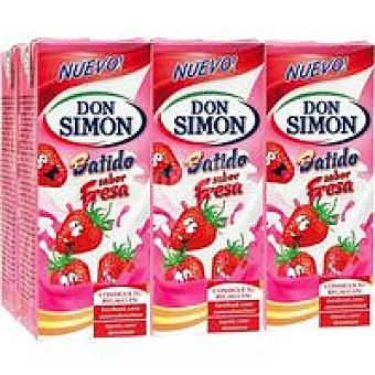 Don Simón Batido de fresa Pack 6 x 200 ml