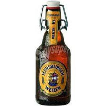 Flensburger Cerveza de trigo Botellín 33 cl