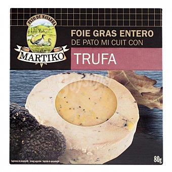 Martiko Foie gras entero de pato con trufa Martiko 80 g