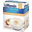 Sustitutive natillas sabor yogur con cereales caja 5 sobres  Bimanan