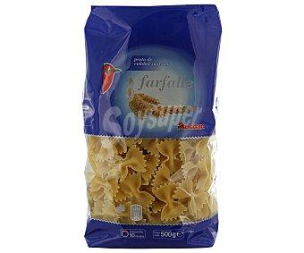 Auchan Farfalle, pasta de sémola de trigo duro de calidad superior Paquete de 500 gramos