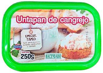 HACENDADO Untapan cangrejo refrigerado Tarrina de 250 g