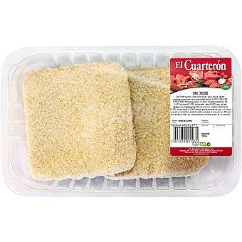 EL CUARTERON san jacobos de pollo peso aproximado bandeja 450 g Bandeja 450 g