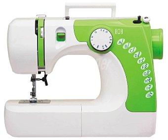 SELECLINE DF612 Máquina de coser (producto económico alcampo), 10 programas de costura, ajuste de la tensión del hilo, brazo libre, luz de costura,