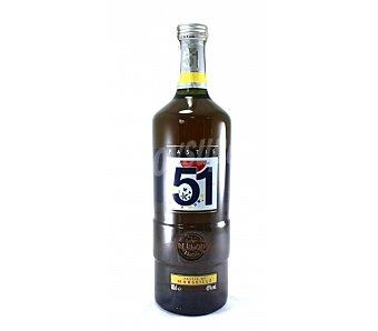 Pastis 51 Anís típico de Francia botella de 1 litro
