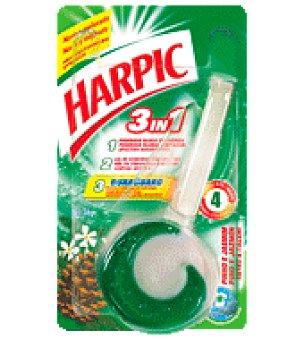 Harpic Colgador cisterna Desodorizante 3 en 1 Pino 1 ud