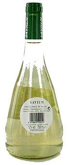 Savium Vino blanco de aguja de Catilla León Botella de 75 centilitros