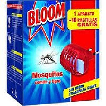 Bloom Antimosquitos eléctrico Aparato + 10 pastillas