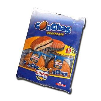 Codan Conchas de chocolate Caja 330 gr