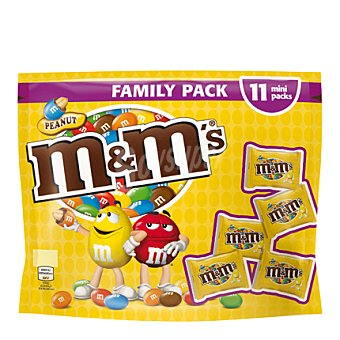 M&M's Cacahuete con chocolate family pack 200 g