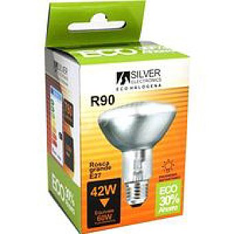 Silver Electronics Eco-Hal Reflectora R90 42w E27 1 unidad