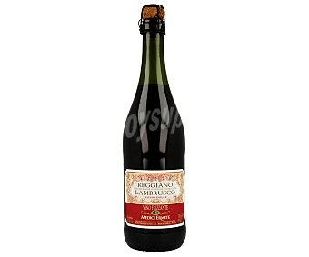 Medici Vino tinto dulce de Italia lambrusco Botella 75 cl