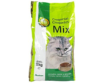 Productos Económicos Alcampo Alimento completo para gatos 2 kilogramos