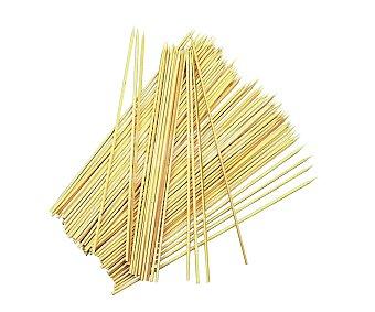 GARDEN STAR Palillos de madera de bambú de 25 centímetros de largo 100 unidades