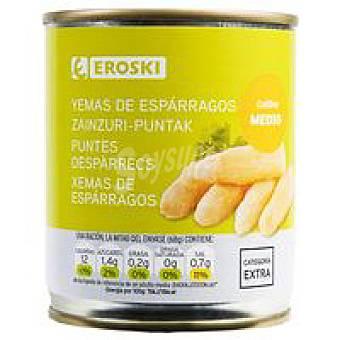 Eroski Yema mediana de espárrago Lata 135 g