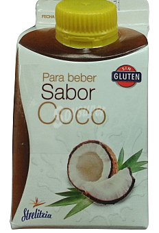 STRELITZIA Yogur liquido coco Pack 2 x 250 g - 500 g